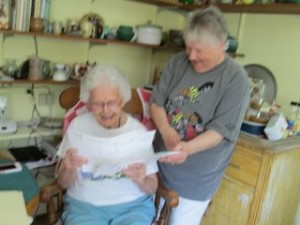 Ellen Whitcher and Margaret Soden review House Tour tickets