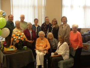 Ellen Whitcher celebrates her 100th Birthday